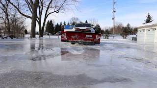 Snow Plowing Ice , Dodge Cummins Fail