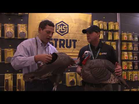 HS Strut Turkey Decoys | New Turkey Hunting Gear | Mossy Oak At NWTF 2018