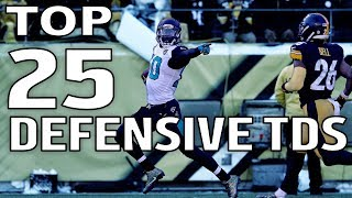 Top 25 Defensive Touchdowns of the 2017 Season! | NFL Highlights thumbnail