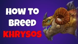 War Dragons How To Breed Khrysos