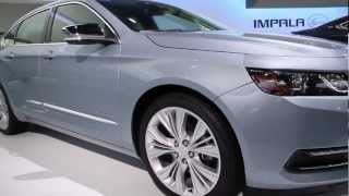 2014 Chevrolet Impala Walkthrough: 2012 New York Auto Show