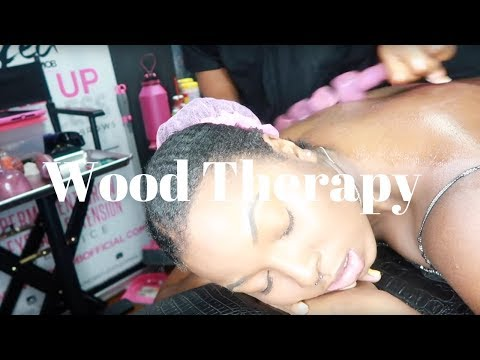 I lost 2 inches from wood therapy | Atlanta Daily Vlogs