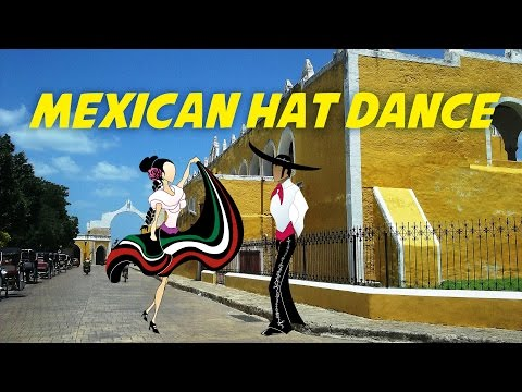 Mexican Hat Dance Version for Children  Free Karaoke Nursery Rhymes with Lyrics