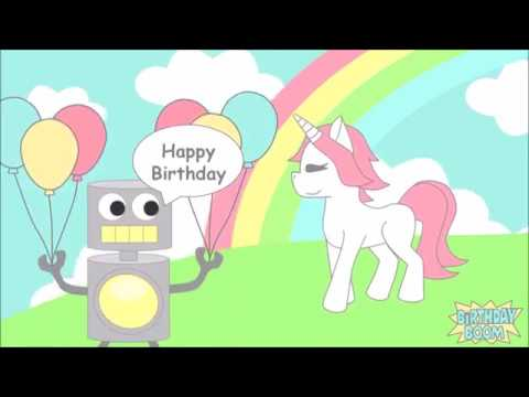 Have A Magical Birthday Unicorn Ecard