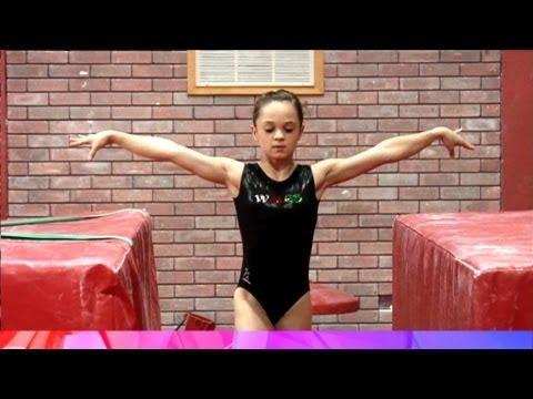 Developing the Tour Jete Turn - gymnastics