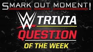 WWE Pro Wrestling Trivia Question of the Week, IWC Outreach & More (Smack Talk 289 Rest Hold)