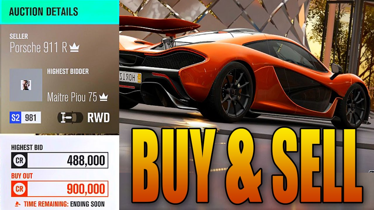Forza Horizon 3: Buy & Sell Cars in the Auction House! (Gameplay ...
