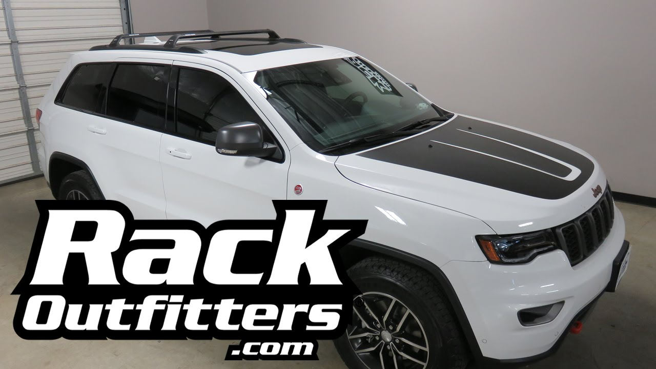 2017 Jeep Grand Cherokee With Rhino Rack Rsp27 Roof Rack