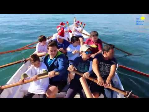 El Club de Remo de la Cala organiza unas jornadas de remo en jábega con niños con autismo