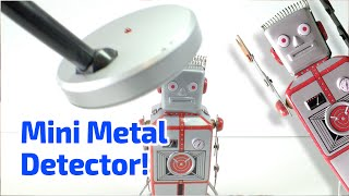 METAL DETECTOR Working Miniature by 50 Fifty Gifts