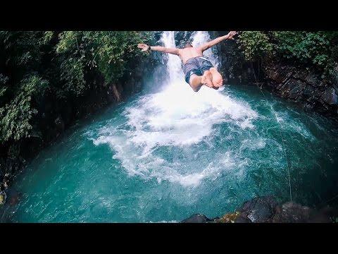 BALI - Jumping Waterfalls and Getting Lost // vlog 10