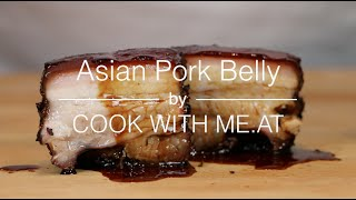 Asian Pork Belly - Smoked on the Big Green Egg - COOK WITH ME.AT