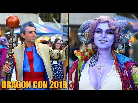 Dragon Con 2018 Cosplay Video