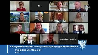 Fundur bæjarstjórnar 7. apríl 2020
