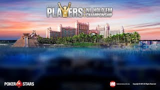 PokerStars NLH Player Championship, Día 1 (cartas al descubierto)