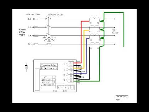 EPE_EE3008PA_Practical Assignment 4 Earth Fault & Overcurrent PPT Drawing