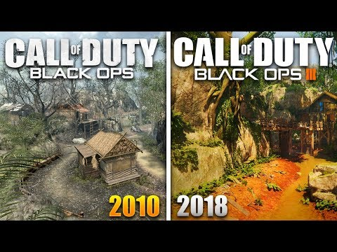 Jungle (BO1) vs. Jungle Remastered (BO3) - Map Comparison