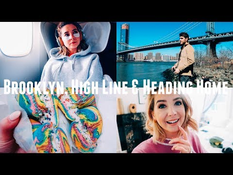BROOKLYN, HIGH LINE & HEADING HOME | NYC VLOGS