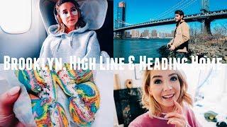 BROOKLYN, HIGH LINE & HEADING HOME | NYC VLOGS
