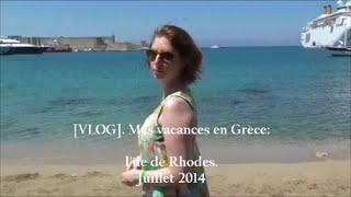 [VLOG] Mes Vacances en Gr�ce. Partie 1!! STARBUCKS. D�COUVERTE DE LA CHAMBRE. PISCINE ET ...