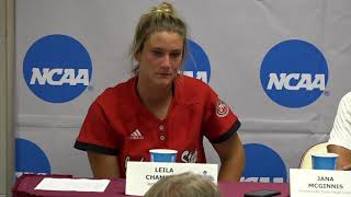 Jacksonville State Softball - NCAA Tallahassee Regional Postgame Press Conference - May 20, 2018