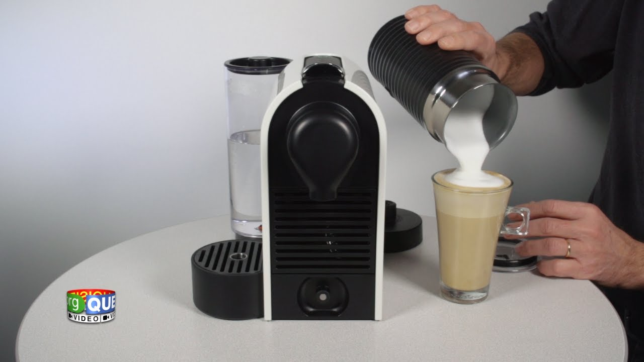nespresso u milk prise en main