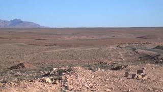 The view of Atlas Mountain near Tadora, Morocco.
