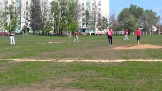 1 тур чемпионата Молдовы по бейсболу 2015