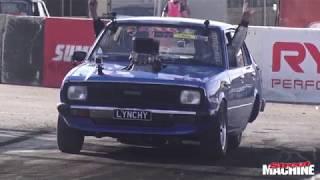 Lynchy Detonates His Engine At Summernats 31