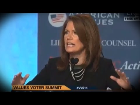 Michele Bachmann's Frenzied Bloodlust Delights Values Voters
