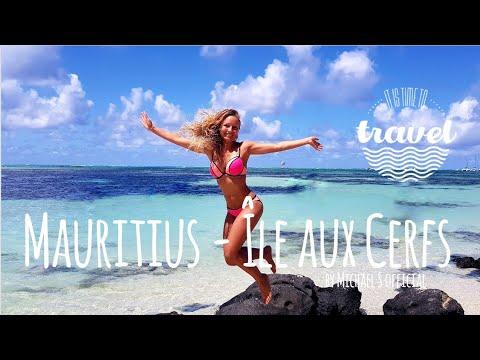 MAURITIUS - Île Aux Cerfs - Paradise / 🌴 Travel Vlog 🌴