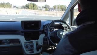 [HD]試乗動画 新型ムーブ [前編] daihatsu move test drive