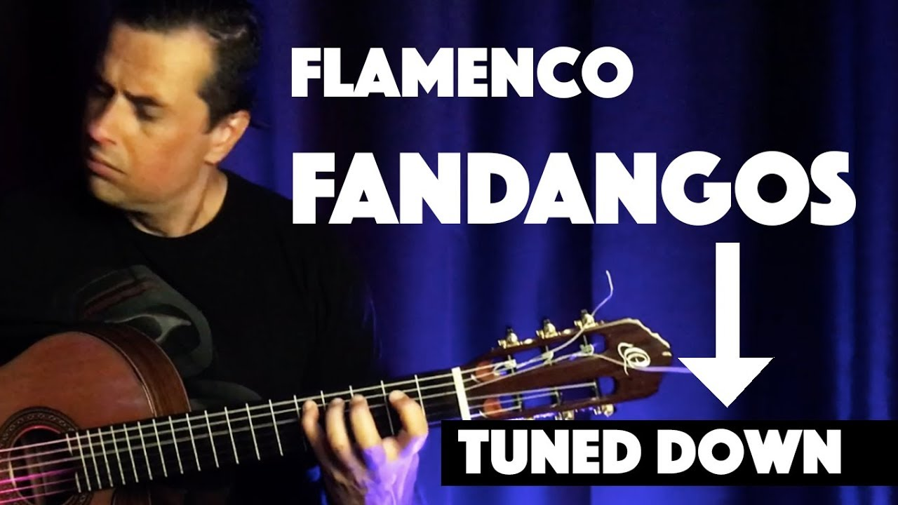 Fandangos - Flamenco Guitar (tuned down) - Ben Woods
