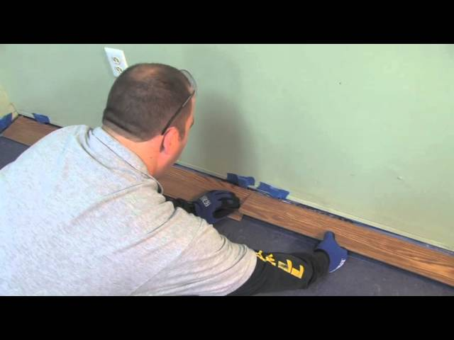 Install Laminate Flooring Lock, How To Install Glueless Laminate Flooring