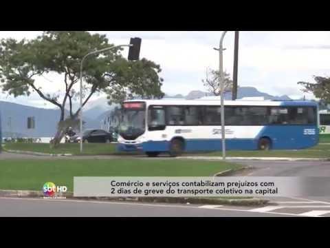 Comércio e serviços contabilizam prejuízos com 2 dias de greve do transporte coletivo