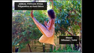 Séance Aerial Yoga / Le Demi-héron