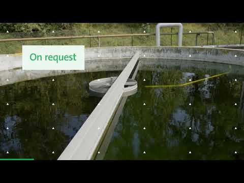 Installation Of A Halia® Mixer Aeration System In A Waste Water Plant