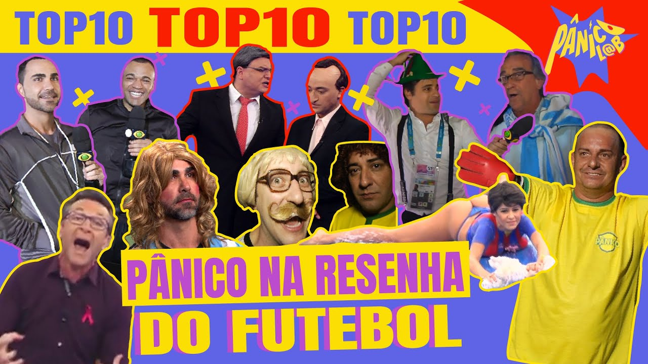TOP 10 MOMENTOS DO PANICO NO FUTEBOL 01 | O PÂN TÁ ON!
