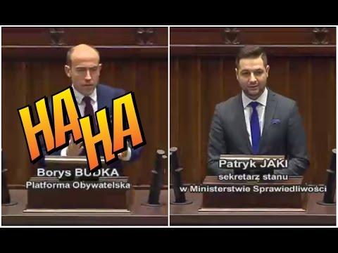 """Patryk Jaki MASAKRUJE Borysa Budkę! """"Z logiką to jest u Pana ciężko!"""""""