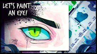 Let's Paint an Eye! • Art Practice