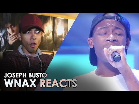 JOSEPH BUSTO - SALDAGA / SOULFUL DUO [ REACTION VIDEO ] #wnax
