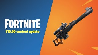 Fortnite Content Update 10.00- New Sniper + Tilted Town! - Double Barrel + - Use Code: BoomBeatle3
