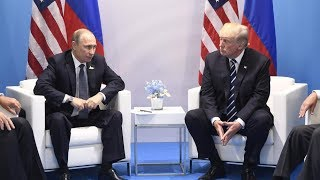 Trump and Putin hold meeting at G-20 in Germany