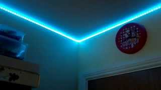 5m 5050 led rgb strip 300 smd waterproof light 44k remote