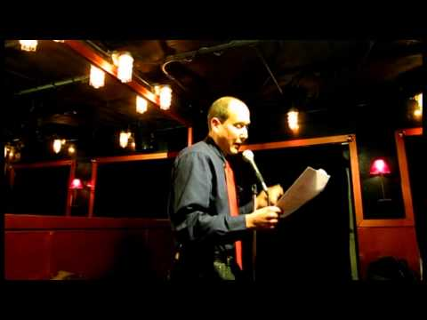 """Open Mic Gypsy"" Michael Anton for Rimes of The Ancient Mariner March 25, 2015"