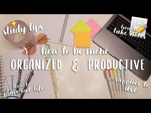 How to Get Organized for This School Year! | Study Tips, How to Take Notes, Etc! | aliyah simone