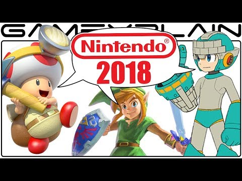 Nintendo in 2018 Discussion Part 2 - Switch's 3rd Party Games, Virtual Console, Mobile, & More!