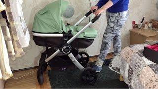 Коляска Chicco Urban Stroller обзор(Обзор - отзыв о детской коляске трансформере Chicco Urban Stroller. Сборка коляски 3 в 1 , зимний и летний комплекты..., 2016-04-13T07:03:42.000Z)