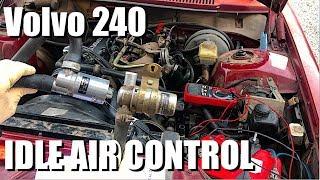 Diagnosing & Replacing Idle Air Control Volvo 240