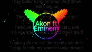 Akon ft Eminem Smack that mp3 audio spectrum | VIDEOS UNLIMITED | Made with Avee player LITE